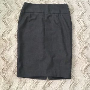Mossimo Denim Inspired Pencil Stretch Skirt